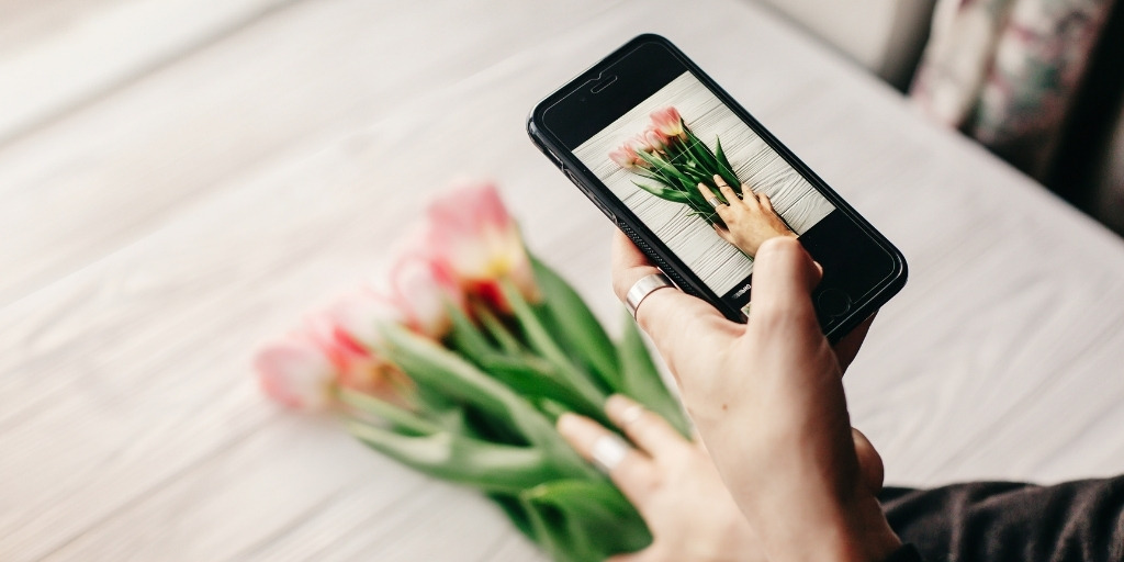 small business instagram tips flowers